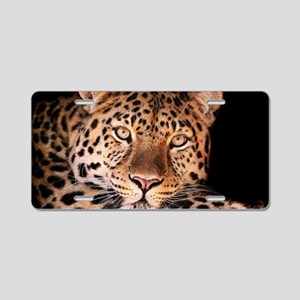 Jaguar Aluminum License Plate
