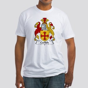 Carlisle Family Crest Fitted T-Shirt