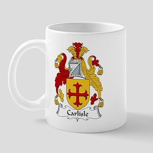 Carlisle Family Crest Mug