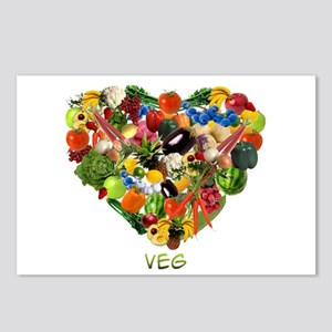 Veg Postcards (Package of 8)