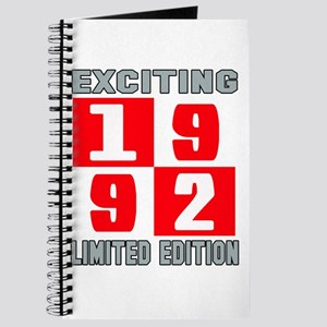 Exciting 1992 Limited Edition Journal