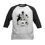 Capper Family Crest Kids Baseball Jersey