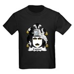 Capper Family Crest Kids Dark T-Shirt