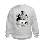 Capper Family Crest Kids Sweatshirt