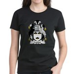 Capper Family Crest Women's Dark T-Shirt
