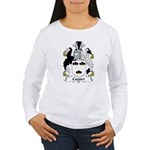 Capper Family Crest Women's Long Sleeve T-Shirt