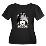 Capper Family Crest Women's Plus Size Scoop Neck D
