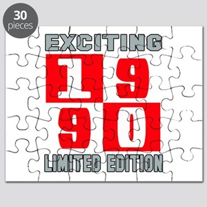 Exciting 1990 Limited Edition Puzzle