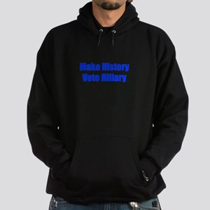 Make History Vote Hillary-Imp blue 400 Hoodie