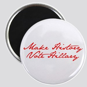 Make History Vote Hillary-Jan red 400 Magnets