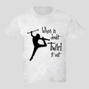 TWIRL IT OUT Kids Light T-Shirt