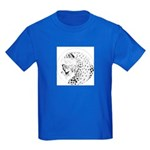 Cheetah Great Cat Kids Dark T-Shirt