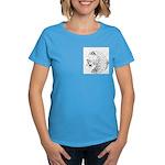 Cheetah Great Cat Women's Dark T-Shirt