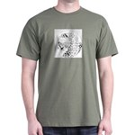 Cheetah Great Cat Dark T-Shirt
