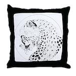 Cheetah Great Cat Throw Pillow