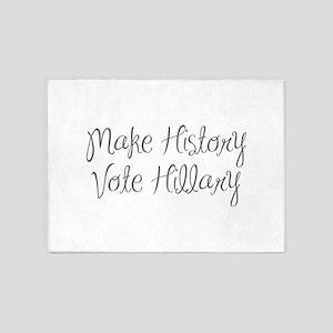 Make History Vote Hillary-MAS gray 400 5'x7'Area R