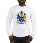 Burrows Family Crest Long Sleeve T-Shirt