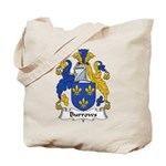 Burrows Family Crest Tote Bag