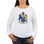Burrows Family Crest Women's Long Sleeve T-Shirt