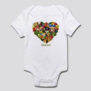 I Love Vegan Infant Bodysuit