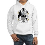 Burr Family Crest Hooded Sweatshirt