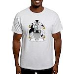 Burr Family Crest Light T-Shirt