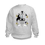 Burr Family Crest Kids Sweatshirt