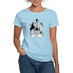 Burr Family Crest Women's Light T-Shirt