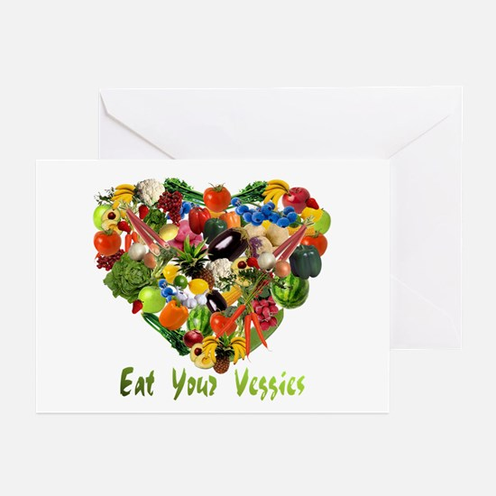 Eat Your Veggies Greeting Cards (Pk of 10)