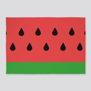 Watermelon 5'x7'Area Rug
