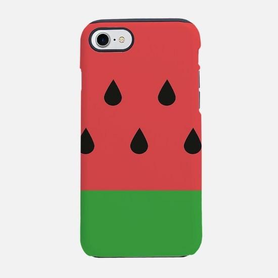 Watermelon iPhone 7 Tough Case