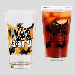 WACK JOB Drinking Glass