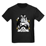 Bunny Family Crest Kids Dark T-Shirt