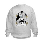 Bunny Family Crest Kids Sweatshirt