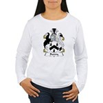 Bunny Family Crest Women's Long Sleeve T-Shirt