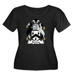 Bunny Family Crest Women's Plus Size Scoop Neck Da
