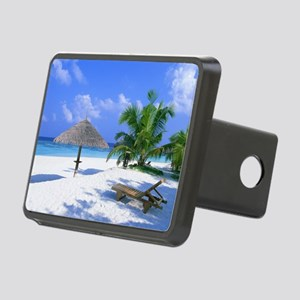 Tropical Beach Hitch Cover