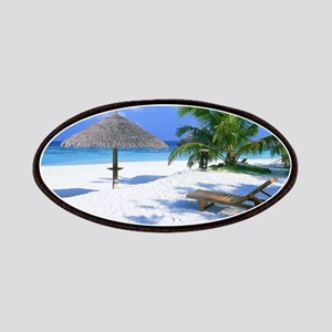 Tropical Beach Patch