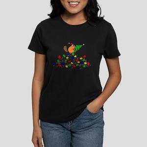 Funny Christmas Beaver T-Shirt