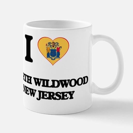 I love North Wildwood New Jersey Mug
