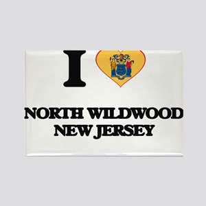 I love North Wildwood New Jersey Magnets