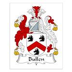 Bullen Family Crest  Small Poster