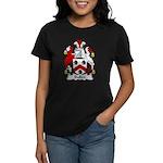 Bullen Family Crest  Women's Dark T-Shirt