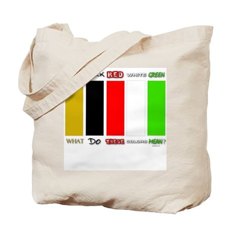 Wordless Book Colors Tote Bag by thinkwow