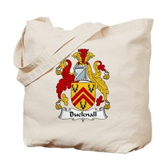 Bucknall Family Crest Tote Bag