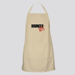 Off Duty Bouncer BBQ Apron