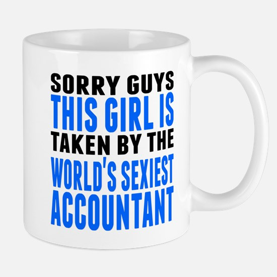 Taken By The Worlds Sexiest Accountant Mugs