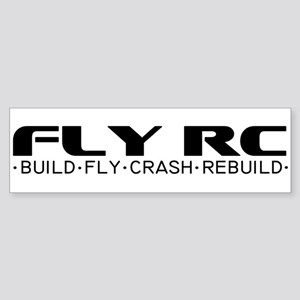 Fly RC Bumper Sticker