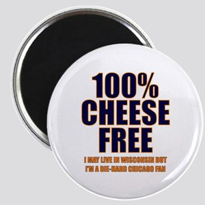 100% Cheese Free - Chi Magnet