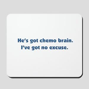 He's Got Chemo Brain Mousepad